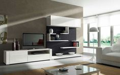Surprising Modern Wall Unit Designs For Living Room Ideas For Fireplace Painting Living Room Tv Wall Unit Designs Living Room Design Living Room Tv Cabinet, Living Room Wall Units, Living Room Modern, Living Room Interior, Living Room Designs, Modern Tv Wall Units, Modern Shelving, Modern Wall, Shelving Units