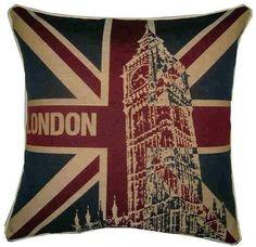 London Pillow with 'Big Ben'