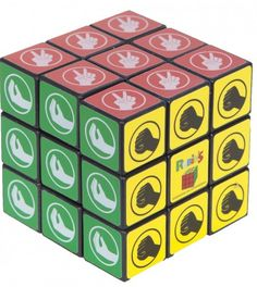 Stocking Stuffer Gifts for Him:  The Big Bang Theory Scissor, Lizard, Spock Puzzle Cube @ CBS Store