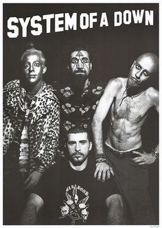 System Of A Down Poster | System Of A Down movie posters at movie poster warehouse movieposter ...