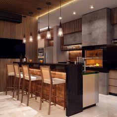 home interior design kitchen Modern Kitchen Cabinets, Kitchen Nook, Kitchen Cabinet Design, Kitchen Interior, Kitchen Dining, Red Bedroom Design, Sweet Home, House Front Design, Modern House Plans