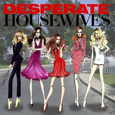 Desperate Housewives - by Armand Mehidridesperatehousewives desperatehousewivesgifs Housewives