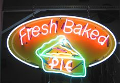 BBQ Neon Signs | Neon over Printed Substrate-Very Cool!