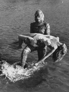 LIFE MAGAZINE ARCHIVE PHOTOS OF THE CREATURE FROM THE BLACK LAGOON
