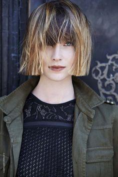 Curiose di scoprire le foto della nuova collezione tagli capelli inverno 2015 2016 donna Jean Louis David? Quali sono le lunghezze, i colori e gli stili ch