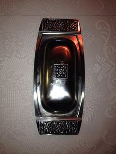 Mid Century Stainless Steel butter dish on Etsy, $22.00