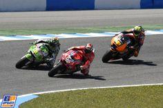 Andrea Dovizioso, Aleix Espargaro, Álvaro Bautista, MotoGP: Spanje, MotoGP