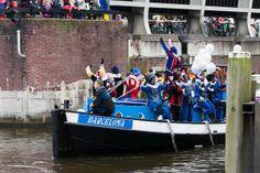 Aankomt van Sinterklaas 2013
