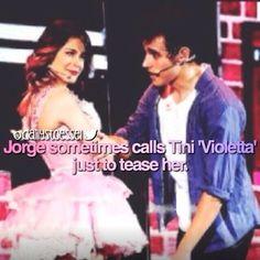 #Violetta #Leonetta #JORTINI ❤️