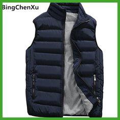 d49e3d685d6 Vest Men New Stylish 2017 Autumn Winter Warm Sleeveless Jacket Army  Waistcoat Men s Vest Fashion Casual