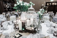 1940's INSPIRED WEDDING RECEPTIONS | Winter Vintage inspired DIY Wedding with a 1940's Wedding Dress ...