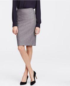 b2b3a3fd02 Dobby Pencil Skirt | Ann Taylor Blue Pencil Skirts, Pencil Skirt Outfits,  Dobby,