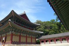 Changduokgung Palace in seoul, South Korea_창덕궁 인정전
