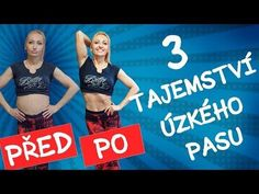 TŘI TAJEMSTVÍ: JAK ZÍSKAT ÚZKÝ PAS? - YouTube Healthy Weight Loss, Health Fitness, Abs, Sporty, Workout, Victoria, Youtube, Exercises, Crunches