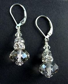The Crystal Silver Earring kit will enhance anything you wear, but we think these are the perfect earrings for a...