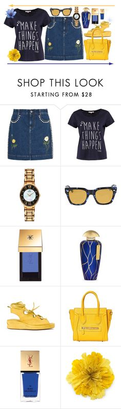 """""""Make things happen"""" by amisha73 ❤ liked on Polyvore featuring STELLA McCARTNEY, TOM TAILOR, Gucci, Yves Saint Laurent, The Merchant Of Venice and MASNADA"""