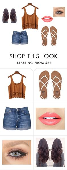 """""""spring"""" by air-bear-disigns ❤ liked on Polyvore featuring Billabong, Topshop and Fiebiger"""