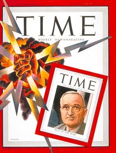 TIME Magazine Cover: Harry S. Truman, Man of the Year - Dec. 31, 1945