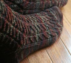 From Favorite Socks: Diagonal Cross-Rib Socks