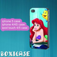 Ariel---iphone 4 case,iphone 5 case,ipod touch 4 case,ipod touch 5 case,in plastic,silicone and black , white. by Boxicase, $14.95