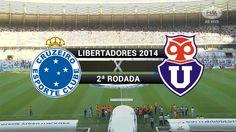 Gols - Cruzeiro 5 x 1 Universidad de Chile (CHI) - Libertadores 2014 - 2...