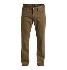 """Colour Straight Fit 34"""" - DC Shoes Jeans für Männer  Colour Straight Fit 34"""" Jeans von DC Shoes. Die Eigenschaften dieses Produkts sind: 10 Oz. Komfortstretch Denim, Straight Fit und Reißverschluss. Dieses Produkt besteht aus: 98% Baumwolle 2% Elastan.  Merkmale:  Jeans, 10 Oz. Komfortstretch Denim, Straight Fit, Reißverschluss, Metall Nieten,  Dieses Produkt besteht aus:  98% Baumwolle 2% Elas..."""