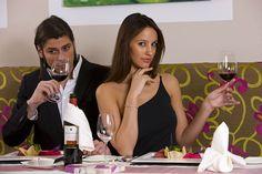 "Romantik-Dinner im Speisesaal ""PINK"" Sauna, Coat, Pink, Jackets, Fashion, Diner Menu, Down Jackets, Moda, Sewing Coat"