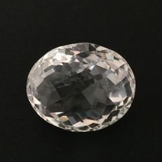 43.67 CT NATURAL CRYSTAL QUARTZ OVAL CUT WHITE COLORLESS LOOSE GEMSTONES 20X24