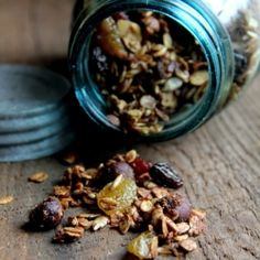 This gluten free granola will boost your energy, provide you with lots of protein, and tastes amazing!