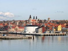 visby (sweden)- inspired the city in Kiki's delivery service