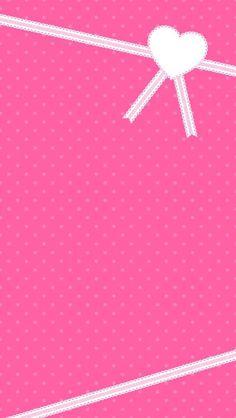 Pink Polka Dot & Ribbon