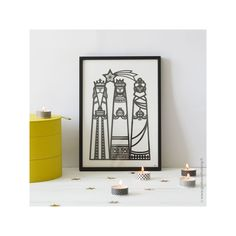 Décoration d'intérieur chrétienne - Illustration des 3 Rois Mages en papier découpé papercut. Idées Cadeaux #godsavetheking Christian home decor - Frame with the illustration of 3 Rois mages in papercut . www.godsavetheking.fr Gift Ideas #godsavetheking