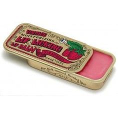 Wild Cherry Lip Licking Flavored Lip Balm - This Lip Licking flavored lip balm for Soft, Smooth Scented Lips brings back sweet memories! Slide back the lid of this gold vintage slider tin to find the delicious scent of sweet Wild Cherry housed inside. Sweet Memories, Childhood Memories, 1980s Childhood, Flavored Lip Gloss, Cherry Lips, Best Lip Balm, Vintage Makeup, Vintage Beauty, Lip Moisturizer