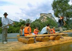 Na plti popod Oravský zámok Bratislava, Aqua, Nature, Travel, Water, Naturaleza, Viajes, Destinations, Traveling