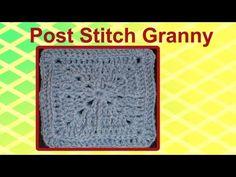 Jacmel #Crochet Granny Square
