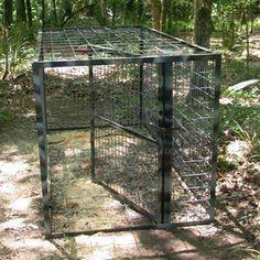 Round Hog Trap Building Plans Traps Hog Trap Building