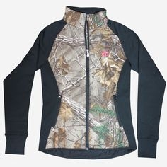 This #New sleek Realtree Girl jacket in the Realtree Xtra camo pattern is designed with a fitted silhouette and flattering quilted detail. The stretchy fabric on the sides and sleeves keeps you moving in comfort. #RealtreeGirl - See more at: http://store.realtree.com/realtree-girl-rg-logo-fitted-jacket.html#sthash.q76JG9ww.dpuf