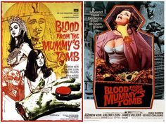 "Blood from the Mummy's Tomb (1971) is best known for its problems. Peter Cushing dropped out after only a day of shooting because his wife took ill. Andrew Keir replaced him. Director Seth Holt (""The Nanny,"" 1965) suffered a fatal heart attack on the set with one week of shooting still left."