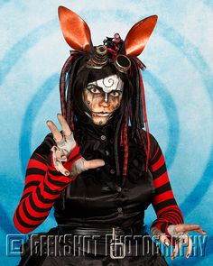 Rabbit of Steam Powered Giraffe. You can find this and many more official SPG prints in our store.