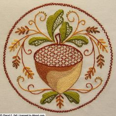 Everyone loves free embroidery patterns! Here you will find free patterns to build your embroidery skills, and information on how to finish your projects.