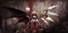 Resultado de imagen para wallpaper anime vampiro