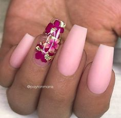 35 Impressive Pink Nail Art Designs Ideas – – Famous Last Words Nail Art Designs, Winter Nail Designs, Winter Nail Art, Acrylic Nail Designs, Winter Nails, Summer Nails, Acrylic Nails, Pink Summer, Pink Nail Art