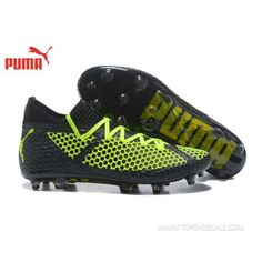 premium selection 9998a 3eb92 2018 FIFA World Cup Puma Future 18.1 Netfit Low hyFG 104985-01 Black Fizzy  Yellow Football shoes