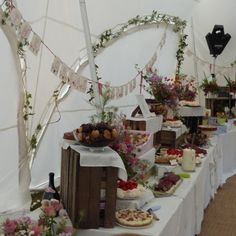 The great wedding bake off table ready!