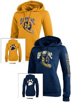Quinnipiac University Bobcats Women's Sport Hooded Sweatshirt | Quinnipiac University