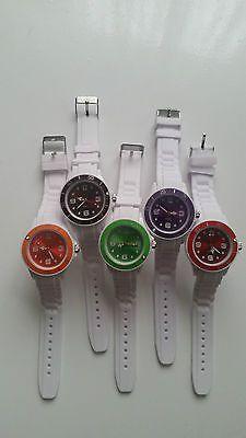5er pack Mode uhren fashion uhren silikon uhren Armband Uhrensparen25.com , sparen25.de , sparen25.info