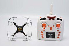 KidsTech--K7 Sky Fighter Inverted Flight Quadcopter Drone Kidstech