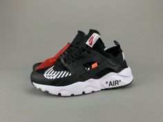 Most Popular Off White x Nike Air Huarache Ultra Black White AA3841-001 Nike  Air 87e74c551