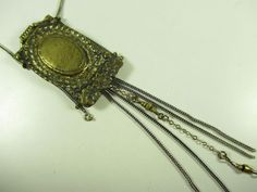Langani Halskette BoHo Kette Vintage Collier 70er 80er necklace ## C36 N4
