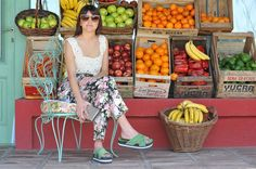 Style :: Pantalones amplios y tejidos en hilo: una tendencia que se instala.